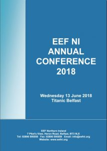 EEF NI ANNUAL CONFERENCE 2018