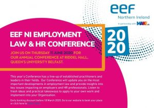 EEF NI Employment Law & HR Conference 2020